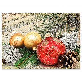 Ornament Christmas Cards - Nonpersonalized