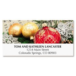 Ornament Deluxe Address Labels