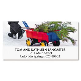 Bring Home the Tree Deluxe Address Labels