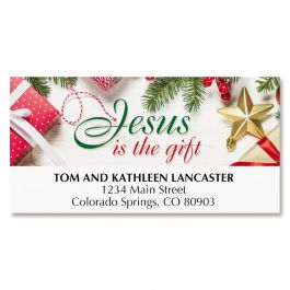 Jesus is the Gift Deluxe Address Labels