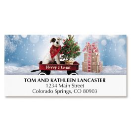 Merry Little Christmas Deluxe Address Labels