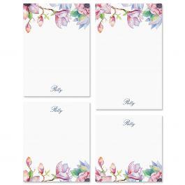 Magnolia Personalized Notepad Set