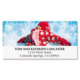 Snow Angel Deluxe Address Labels