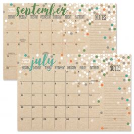 2020 2021 Kraft Calendar Pad Current Catalog