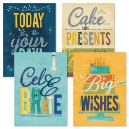 Big Wishes Birthday Cards