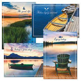 Dockside Birthday Cards