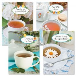 Cup of Cheer Get Well Cards