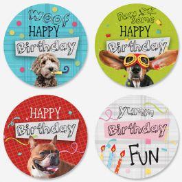Birthday Pups Seals (4 Designs)