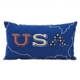 USA Patriotic Pillow