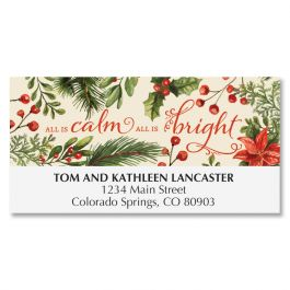 All Is Calm Deluxe Address Labels