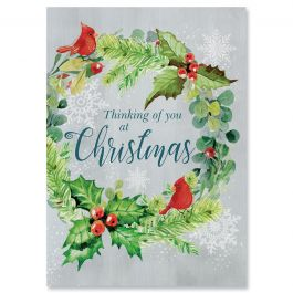 For You at Christmas Christmas Cards - Personalized