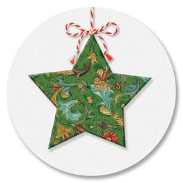 Star Ornaments Seals