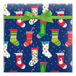 By The Chimney Jumbo Rolled Gift Wrap