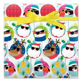 Cool Characters Jumbo Rolled Gift Wrap