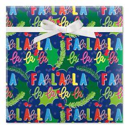 Falala Jumbo Rolled Gift Wrap