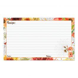 Mums Recipe Cards - 3 x 5