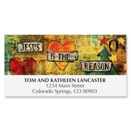 Jesus is the Reason Deluxe Address Labels