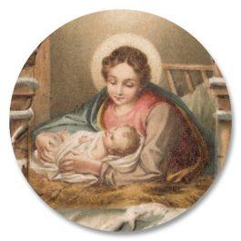 Vintage Nativity Seals