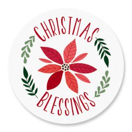 Christmas Blessings Seals