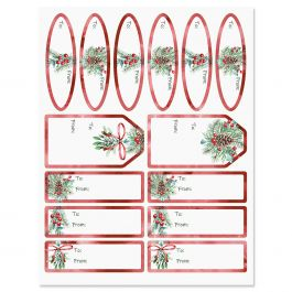 Under the Mistletoe Gift Wrap To/From Labels
