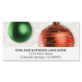 Ornament Holiday Deluxe Address Labels