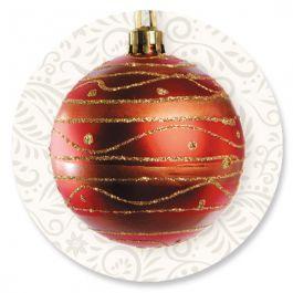 Ornament Holiday Seals