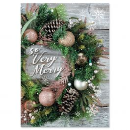 Very Merry Christmas Cards - Personalized