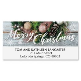 Very Merry Deluxe Address Labels