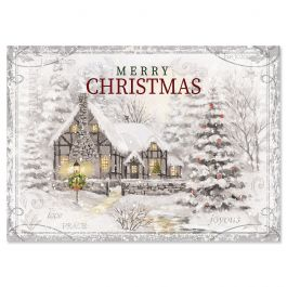 Holiday Home Christmas Cards - Personalized
