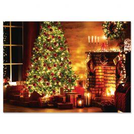 Silent Night Christmas Cards