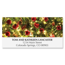 Silent Night Deluxe Address Labels