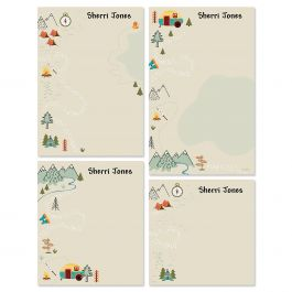 Camping Personalized Notepads