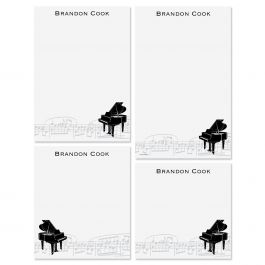 Piano Personalized Notepads