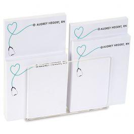 Medical Personalized Notepad Set & Acrylic Holder