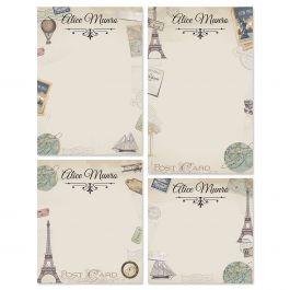 Travel Personalized Notepads