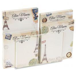 Travel Personalized Notepad Set & Acrylic Holder