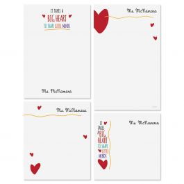 Teacher Personalized Notepads
