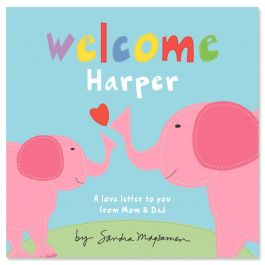 Welcome, Little One - Pink Personalized Story Book