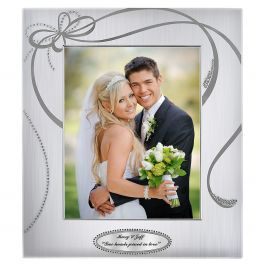 Personalized Ribbons Picture Frame