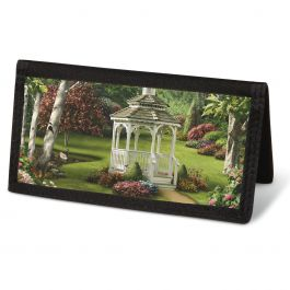 Peaceful Moments Checkbook Cover - Non-Personalized