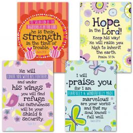 Under His Wings Faith Cards