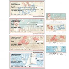 Coastal Single Checks with Matching Address Labels