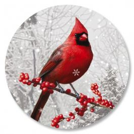 Winterberry Cardinal Seals