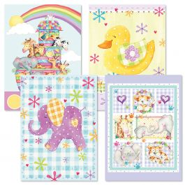 Pastel Baby Cards