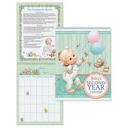 Morehead 2nd Year Baby Calendar