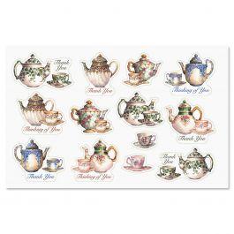 Tea Time Seals