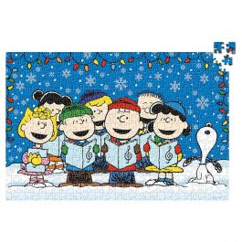 Peanuts Snoopy Gang Christmas Puzzle Current Catalog