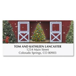 Tree Farm Deluxe Address Labels