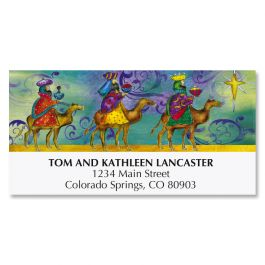 Wise Men Peace Deluxe Address Labels