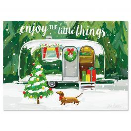 Christmas Getaway Christmas Cards - Personalized